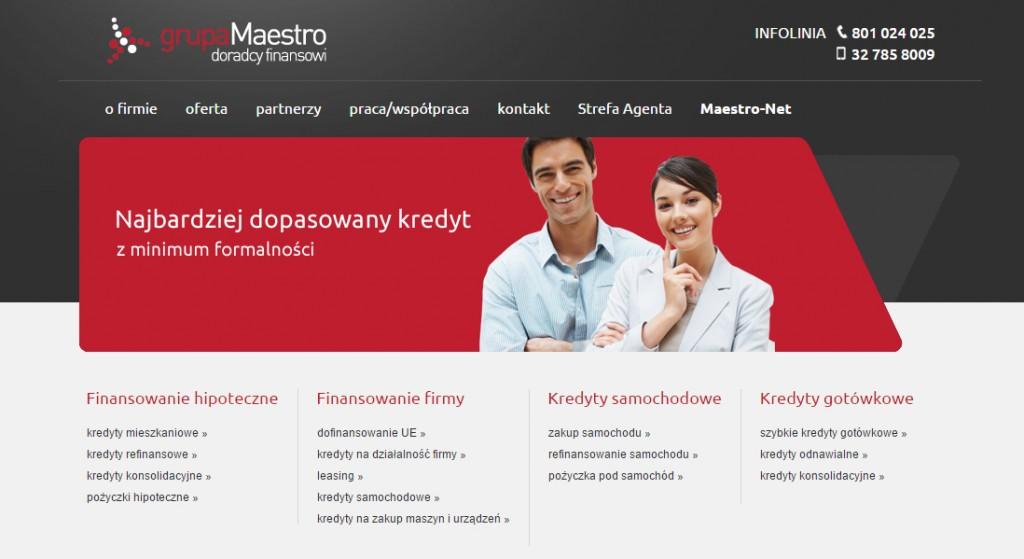 Grupa Maestro – doradcy finansowi